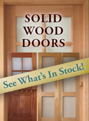 In Stock Dutch Doors, Screen Doors and Storm Doors