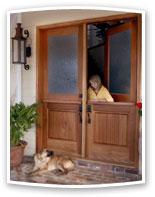 Double Dutch Doors For Exterior Interior Lications