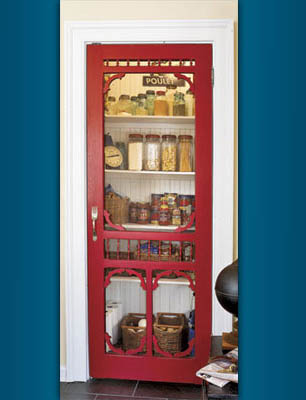 Charmant Give Your Kitchen That Finishing Touch With A Unique Pantry Door! An  Eye Catching Screen Door Is A Perfect Fit For Any Home, Beach House Or  Cottage In Lieu ...