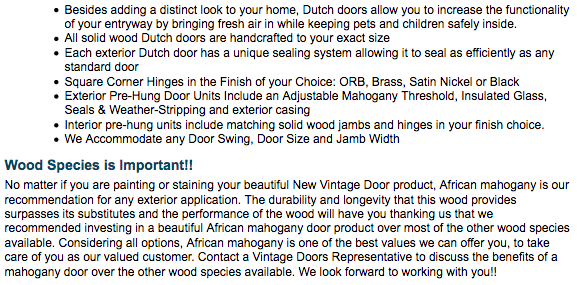 Dutch Doors - Vintage Doors