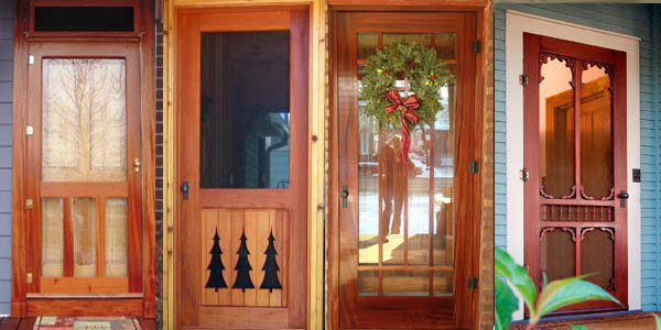 Solid Wood Screen and Storm Doors - Vintage Doors - YesterYear\'s ...