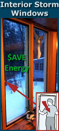 Save Energy with Interior Storm Inserts