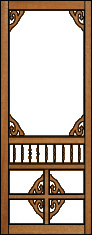 Atlantis Victorian Porch Panel