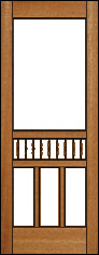 Cottage Charm Screen Door