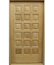 EU130 Solid Wood Entrance Unit