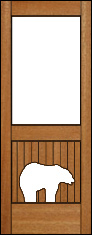 Grizzly Pantry Door