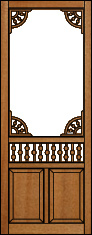 Inspiration Victorian Porch Panel