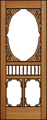 Mademoiselle Screen Door