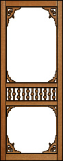 Mystique Victorian Porch Panel