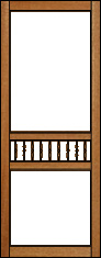 Plantation Victorian Porch Panel