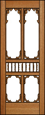 Primrose Screen Door