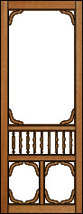 Riverview Victorian Porch Panel