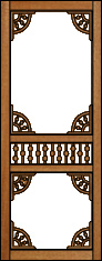 Sassafras Victorian Porch Panel