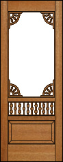 Serenity Screen Door