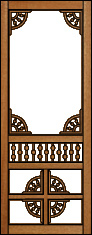 Sonata Victorian Porch Panel