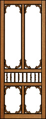 Southern Bell Victorian Porch Panel