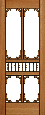 Southern Bell Screen Door