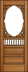 Southern Charm Screen Door