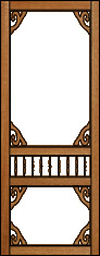 Splendor Victorian Porch Panel