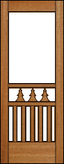 Tamarack Screen Door