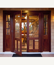 Double Old Fashion Screen Storm Door