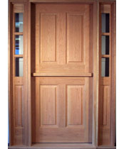 DE101 Solid Wood Dutch Entrance Unit
