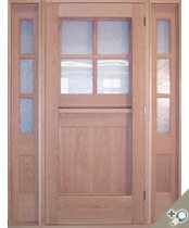 DE102 Glass Panel Entrance Unit
