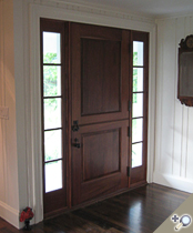 DE109 Solid Wood Dutch Entrance Unit