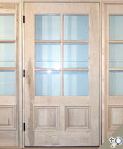 EU116 Glass Panel Entrance Unit
