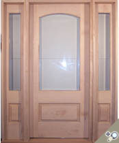 EU107 Glass Panel Entrance Unit