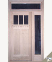 EU109 Glass Panel Entrance Unit