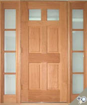 EU115 Glass Panel Entrance Unit