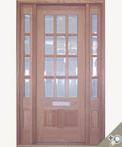 EU118 Glass Panel Entrance Unit
