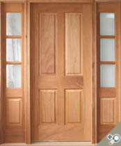 EU112 Solid Wood Entrance Unit