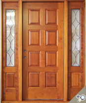 EU120 Solid Wood Entrance Unit
