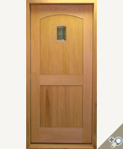 EU125 Solid Wood Entrance Unit