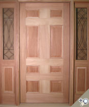 EU119 Solid Wood Entrance Unit
