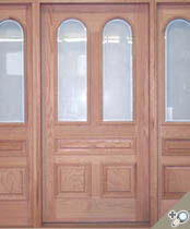 EU105 Glass Panel Entrance Unit