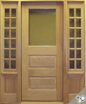 EU126 Glass Panel Entrance Unit