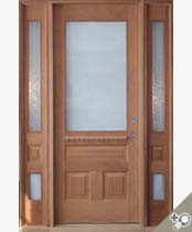 EU106 Glass Panel Entrance Unit