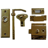 Surface Mount Knob/Lever Latch Set