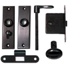 Mortise Knob Lever Set for Inactive Double Door