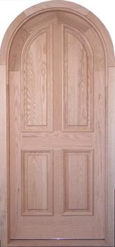 Incroyable D102RT Round Top Solid Wood Door