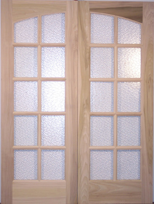 Db101 Glass Panel Double Door Yesteryear S Vintage Doors