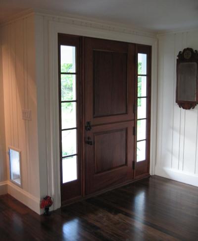 De109 Solid Wood Dutch Entrance Unit