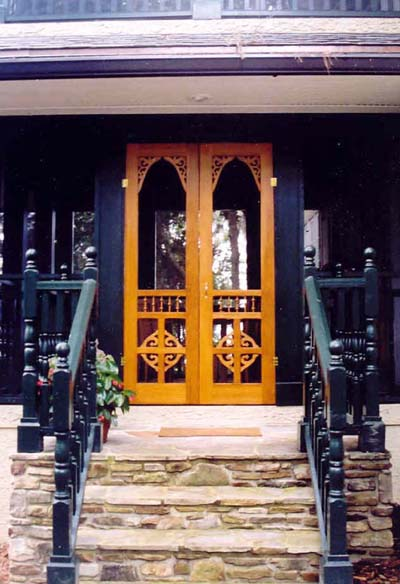 Double Screen Amp Storm Door French Style Screen Doors
