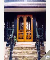 Double Chelsea Screen U0026 Storm Door In Spanish Cedar. Browse More Victorian  Designs Like This