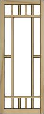 Solid Wood Craftsman Porch Panels 3 Season Porch Panels