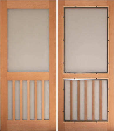 Traditional Screen & Storm Doors - VintageDoors.com - YesterYear\'s ...