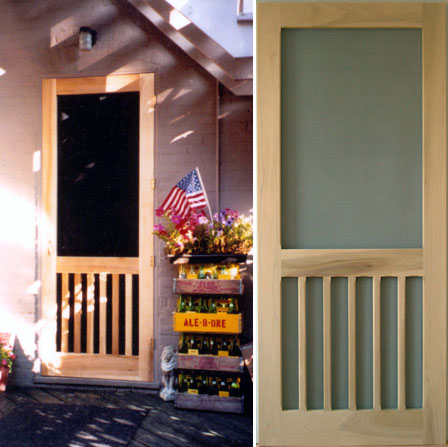 Solid Wood Traditional Screen Amp Storm Door Designs